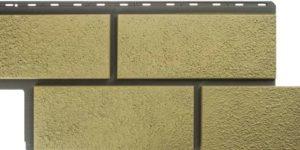 Фасадная панель Камень Неаполитанский Песчаный