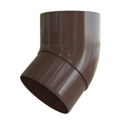 Колено трубы (отвод) 45° Стандарт Коричневый