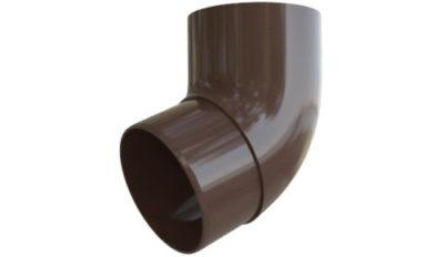 Колено трубы (отвод) 67° Стандарт Коричневый