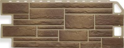 Фасадная панель Камень Сланец