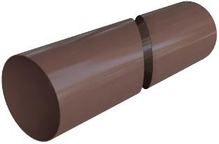 Труба водосточная (95 мм) Элит 4 м