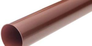 Труба водосточная (95 мм) Элит 3 м. Красная