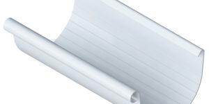Желоб водосточный (125 мм) Элит 3 м. Белый