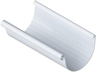 Желоб водосточный (125 мм) Элит 4 м. Белый