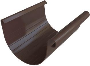 Желоб водосточный (125 мм) Элит 4 м. Коричневый