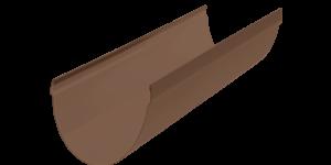 Желоб водосточный 3 м. Стандарт Коричневый