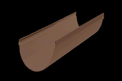 Желоб водосточный 4 м. Стандарт Коричневый