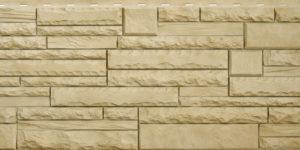 Фасадная панель Скалистый камень Анды