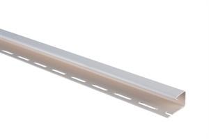 Планка J-trim, Альта-Сайдинг, 3660 мм, цвет Белый