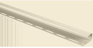 Планка J-trim, Альта-Сайдинг, 3000 мм, цвет Кремовый