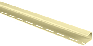 Планка J-trim, Альта-Сайдинг, 3660 мм, цвет Лимонный