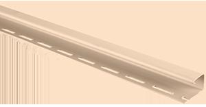 Планка J-trim, Альта-Сайдинг, 3660 мм, цвет Розовый