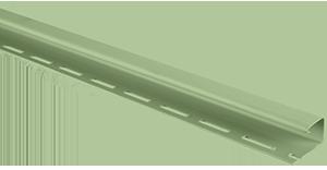 Планка J-trim, Альта-Сайдинг, 3660 мм, цвет Салатовый