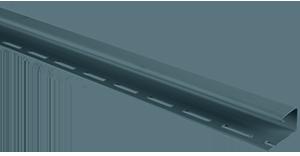 Планка J-trim, Альта-Сайдинг, 3660 мм, цвет Серо-голубой
