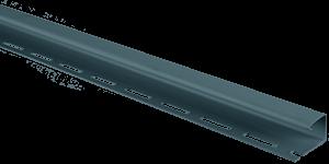 Планка J-trim, Альта-Сайдинг, 3000 мм, цвет Серо-голубой