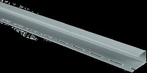 Планка J-trim, Альта-Сайдинг, 3660 мм, цвет Светло-серый
