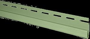 Планка финишная, 3660 мм, цвет Салатовый