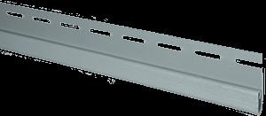 Планка финишная, 3660 мм, цвет Светло-серый