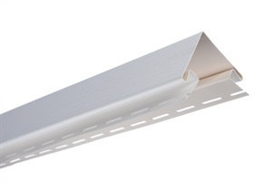 Планка наружный угол, 3050 мм, цвет Белый