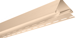 Планка наружный угол, 3050 мм, цвет Розовый