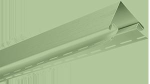 Планка наружный угол, 3050 мм, цвет Салатовый