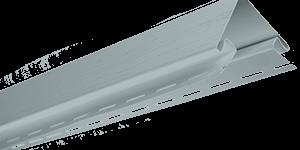 Планка наружный угол, 3050 мм, цвет Светло-серый