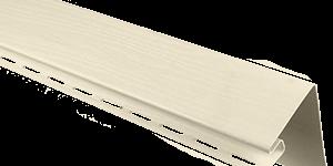 Планка околооконная, 3050 мм, цвет Кремовый
