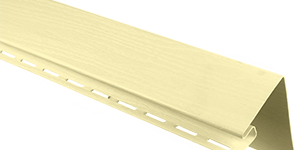 Планка околооконная, 3050 мм, цвет Лимонный