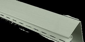 Планка околооконная, 3050 мм, цвет Серо-зеленый