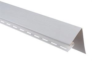 Планка околооконная широкая, 3050 мм, цвет Белый