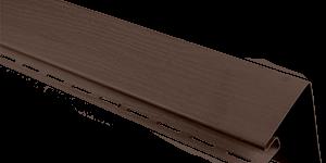 Планка околооконная широкая, 3050 мм, цвет Коричневый