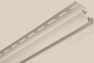 Планка внутренний угол, 3050 мм, цвет Бежевый