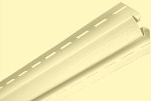 Планка внутренний угол, 3050 мм, цвет Лимонный