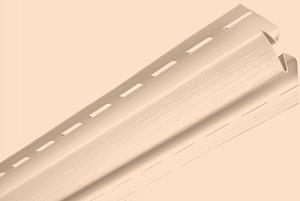 Планка внутренний угол, 3050 мм, цвет Розовый