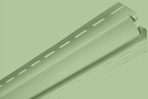 Планка внутренний угол, 3050 мм, цвет Салатовый