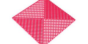 Решетка с дополнительным обрамлением Розовая