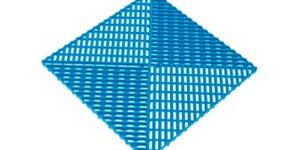 Решетка с дополнительным обрамлением Синяя