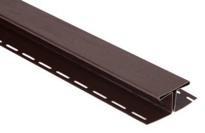 Соединительная планка коричневая 3,05 м.