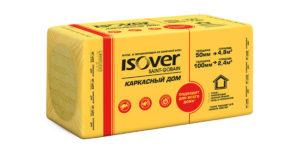 Утеплитель ISOVER Каркасный Дом 50х600х1000