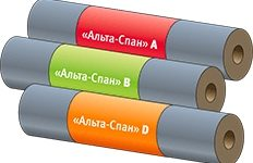 "Парогидроизоляционная мембрана ""Альта-Спан D"" 70м²"