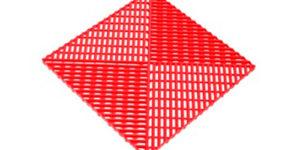 Решетка с дополнительным обрамлением Красная