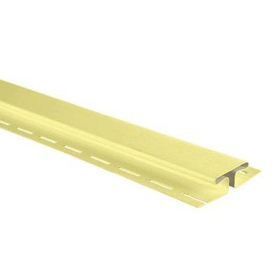 Планка соединительная, 3050 мм, цвет Лимонный