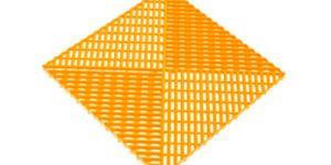 Решетка с дополнительным обрамлением Желтая