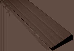 Планка наличник, 3660 мм, цвет Коричневый