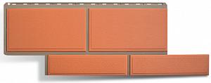 Фасадная панель Камень Флорентийский Терракотовый