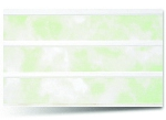 Вагонка ПВХ Зеленая трехсекционная