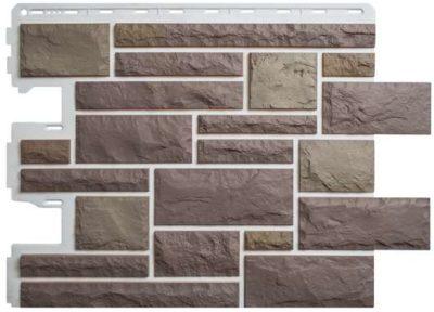 Фасадные панели Альта-Профиль Камень Пражский (цвет 03)
