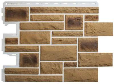 Фасадные панели Альта-Профиль Камень Пражский (цвет 02)