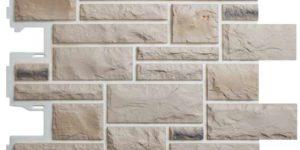 Фасадные панели Альта-Профиль Камень Пражский (цвет 01)