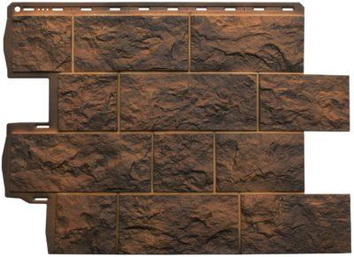 Фасадная панель Туф (Иранский), 0,796 х 0,591м